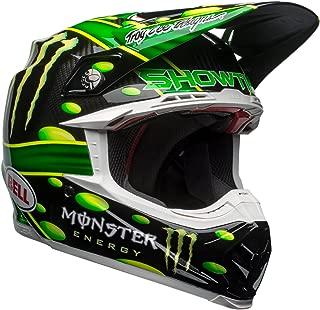 Bell Moto-9 Flex Off-Road Motorcycle Helmet (MC Monster Replica 18.0 Gloss Green/Black, Large)