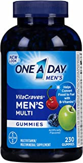 One A Day Men's VitaCraves Multivitamin Gummies, 230 ct. (pack of 2)