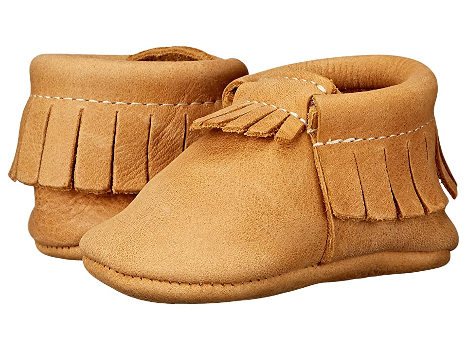 Freshly Picked Soft Sole Moccasins (Infant/Toddler) (Beehive State) Kids Shoes