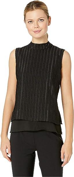 Sleeveless Woven Pullover