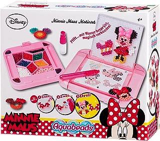 Aquabeads Kit Loisir Créatif Minnie Mouse, Kit de Bricolage, Loisir Créatif, Nœuds, Décoration, Plaque, Disney, 79758