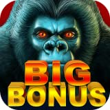 FREE vegas Slots Gorilla Slot Machine games: play Las Vegas 777 slot with big bonus and free spins! new casino slots for 2015 on Android and Kindle! enjoy huge jackpots and hourly bonus!