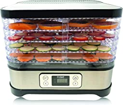 L'EQUIP Snacky XL Food Dehydrator with 5 Adjustable Trays