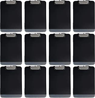 Trade Quest Premium Storage Clipboard with Pen Holder Clip and Extra Compartment (Pen Included) (Pack of 12)