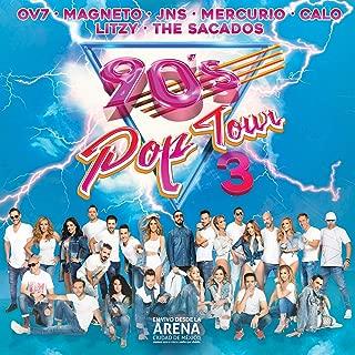 90's Pop Tour Vol. 3 (En vivo desde la Arena CDMX) 2 CD + 1 DVD