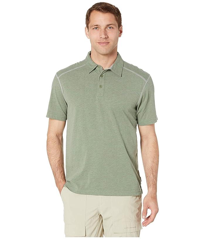 White Sierra Mill Valley Short Sleeve Polo (Mountain Pine) Men