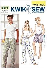 Kwik Sew K3074 Sleep Pants and Shorts Sewing Pattern, Size XS-S-M-L-XL