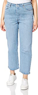 Levi's Ribcage Straight Ankle Jeans para Mujer