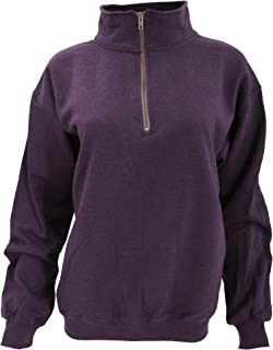 Adult Vintage 1/4 Zip Sweatshirt Top