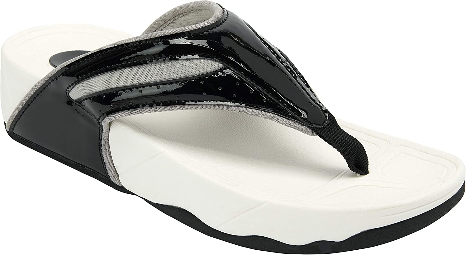 Comfortview Women's Wide Width The Sporty Thong Sandal