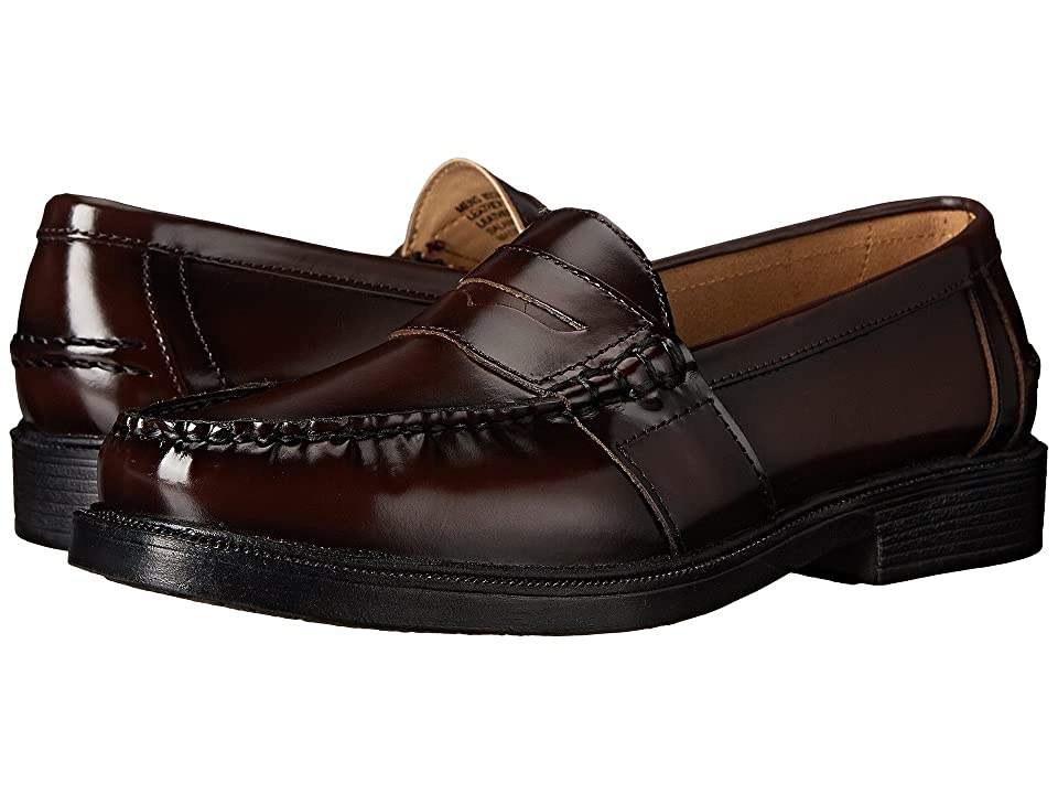 Nunn Bush Lincoln Penny Loafer (Burgundy Polished Leather) Men