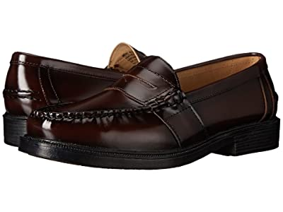 Nunn Bush Lincoln Penny Loafer (Burgundy Polished Leather) Men