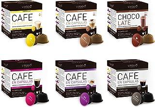 comprar comparacion Viaggio Espresso Cápsulas de café compatibles con máquinas Dolce Gusto Mix Colección (60 Cápsulas)