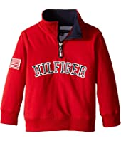 Tommy Hilfiger Kids - 1/2 Zip Pullover Sweater (Toddler)