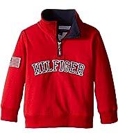 Tommy Hilfiger Kids - 1/2 Zip Pullover Sweater (Toddler)