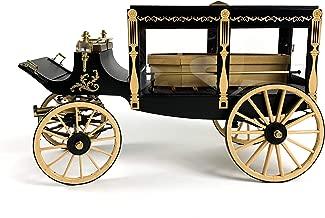 Model Trailways MS6009 1895 Horse-Drawn Hearse Wagon 1:12 Scale Wood & Metal Kit