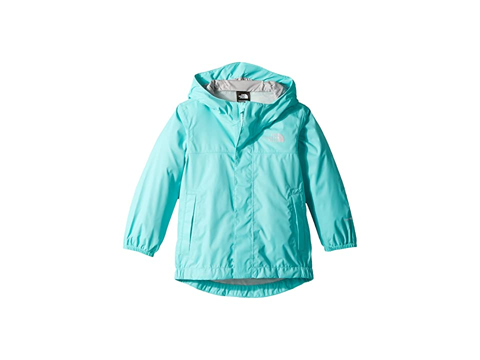 The North Face Kids Tailout Rain Jacket (Toddler) (Mint Blue) Girl