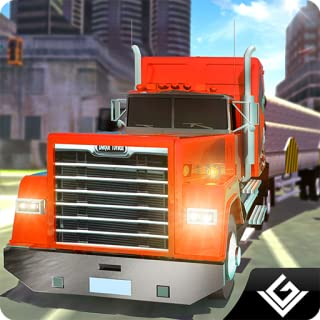 Real Truck Extreme Driving Simulator 2018: Euro City Transporter Truck Heavy Duty Driver Adventure Simulation Game