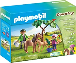 PLAYMOBIL Vet with Pony and Foal