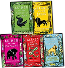 Alexander McCall Smith Akimbo 5 Books Collection Pack Set (Akimbo and the Crocodile Man, Akimbo and the Baboons, Akimbo an...