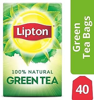Lipton Green Tea Bags, 100% Natural Tea, 40 ct
