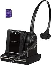 $189 » Plantronics Savi W710 Wireless Headset Bundled with Headset Advisor Wipe (Renewed)