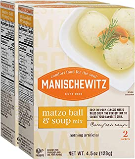 Manischewitz Mix Matzo Ball Soup pack of 2