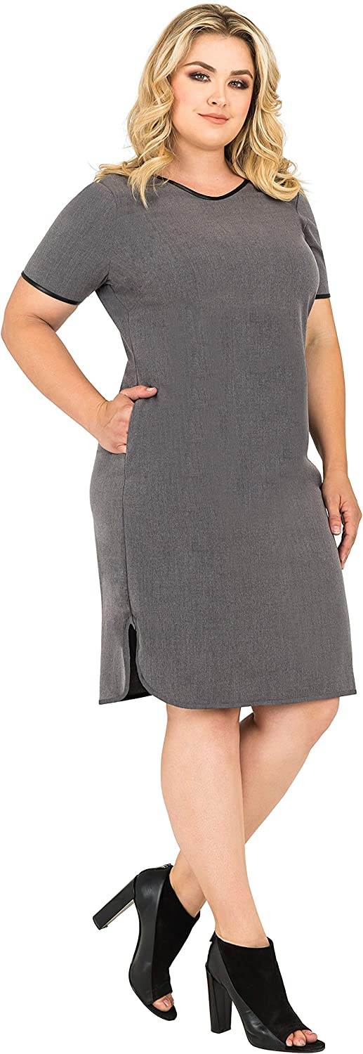 Standards Practices Popular brand Plus Size Women's Suiting Apron S Limited time for free shipping Grey Hem