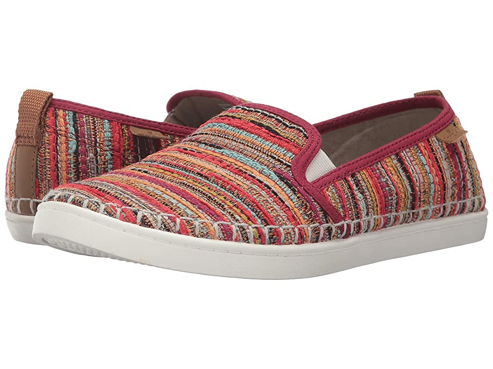 Sanuk Brook TX (Rumba Red Boho) Women