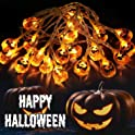 Ousfot Pumpkin Lights Battery Operated 10.4Ft Halloween Decor
