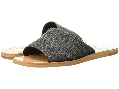 Dolce Vita Women's Bobbi Slide Sandal, Ash Denim, 9.5 M US