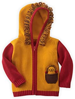Joobles Fair Trade Organic Baby Cardigan Sweater - Roar The Lion