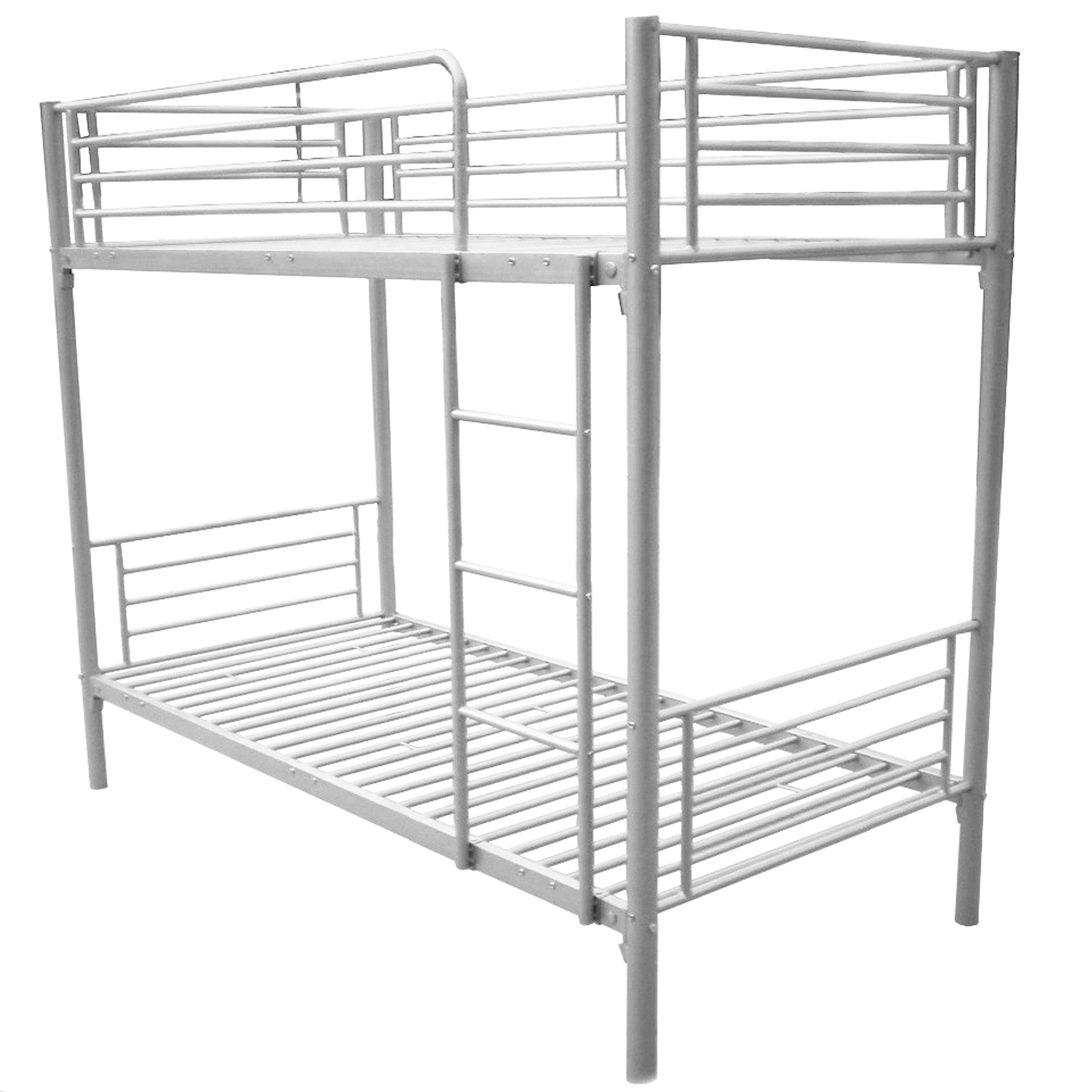 Bunk Bed 100 Cm X 190 Cm Silver Buy Online At Best Price In Uae Amazon Ae