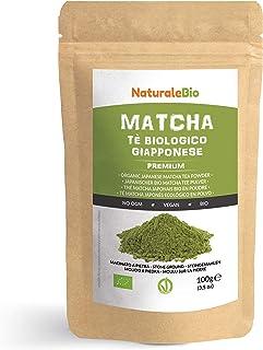 comprar comparacion Té Verde Matcha Orgánico Japonés En Polvo  Calidad Premium  100g. Té Matcha Biológico Japonés. Té Bio Grado Premium. Mat...