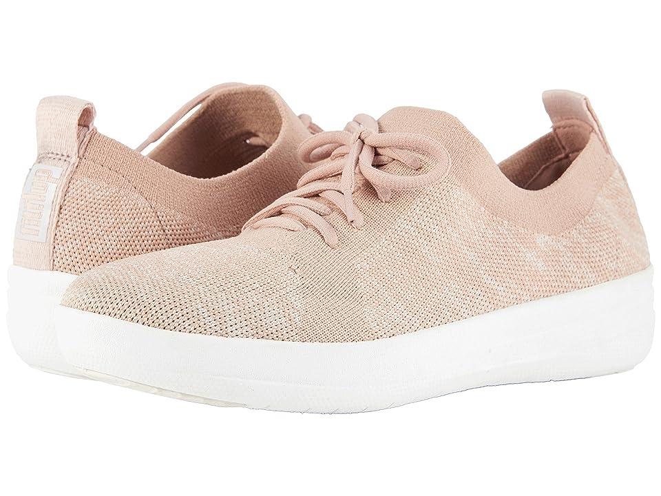 FitFlop F-Sporty Uberknit Sneakers (Neon Blush/Urban White) Women