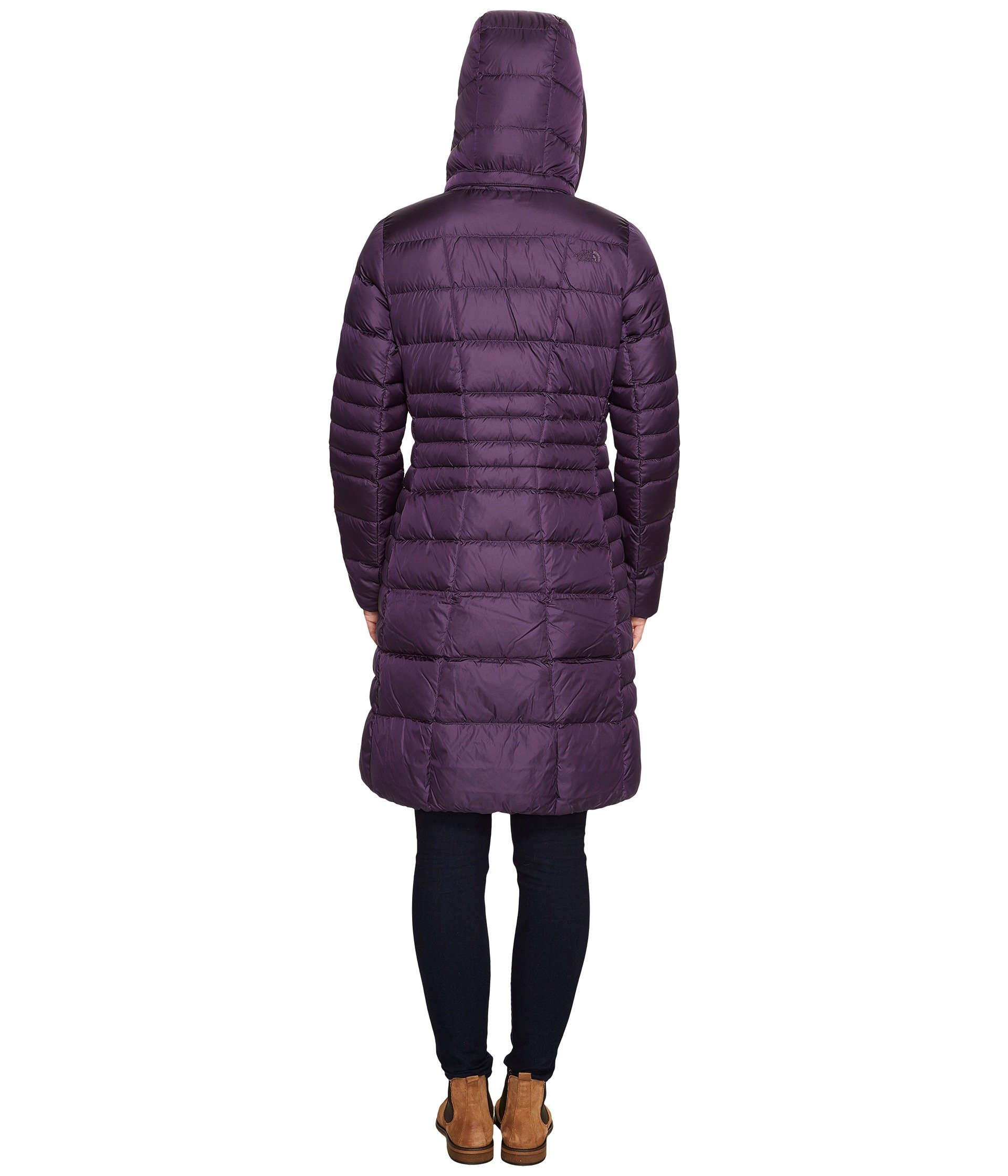 North face purple puffer jacket