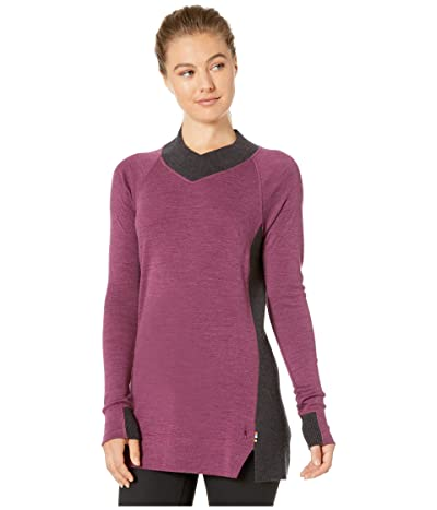 Smartwool Merino 250 Trend Tunic (Sangria Heather) Women