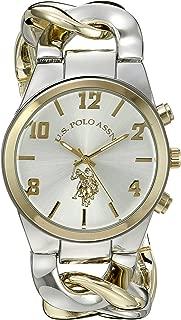 Women's USC40173 Analog Display Two-Tone Watch
