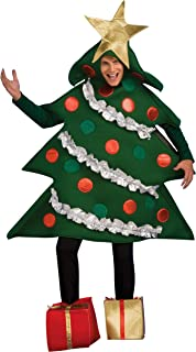 Rubie's Adult Christmas Tree Costume With Present Shoe Covers