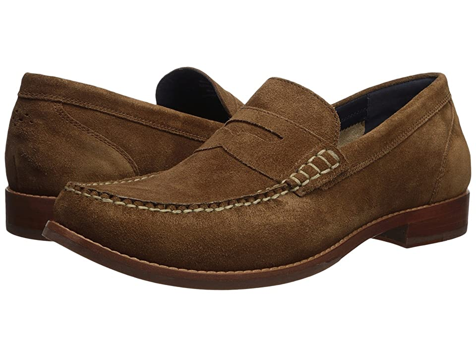 Cole Haan Pinch Grand Casual Penny Loafer (Bourbon Suede) Men