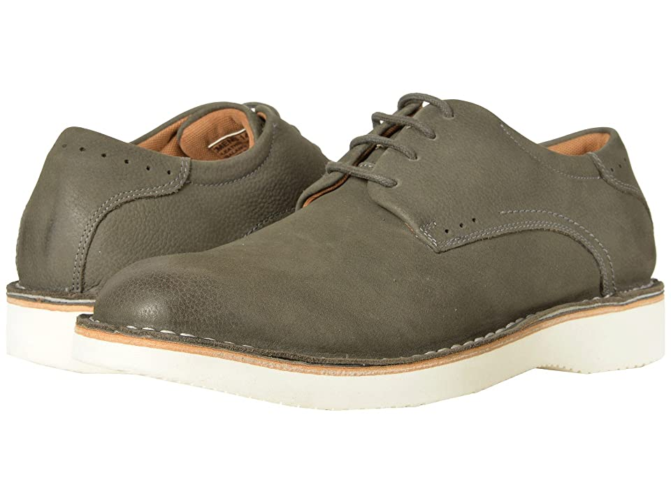 Florsheim Navigator Plain Toe Oxford (Gray Nubuck) Men