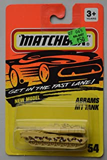 Matchbox GET in The Fast Lane New Model, Abrams M1 Tank #54