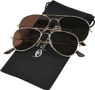 Sunny Pro Parent-Child Matching Aviator Sunglasses with UV Protection