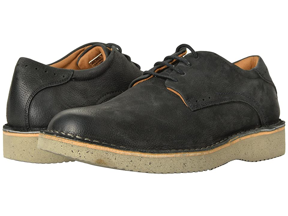 Florsheim Navigator Plain Toe Oxford (Black Nubuck) Men