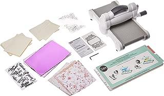 Sizzix Big Shot Starter Kit - Inspired by David Tutera - Machine, Cutting Pads, Multipurpose Platform, Paper, Stamps and Dies - 26 Piece Set