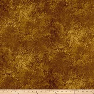 Maywood Studio High Country Crossing Granite Blender Rich Gold, Fabric by the Yard
