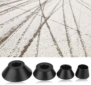 Estink Wheel Balancer Cone, 4pcs Wheel Balancer Adapter Cones Standard Taper Cone Kit for 40mm Shaft