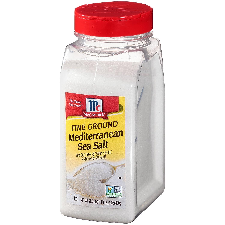 McCormick Fine Cheap Our shop most popular super special price Ground Mediterranean Sea Salt 28.25 oz