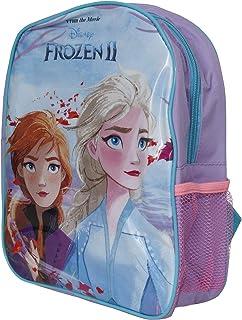 Frozen II Childrens/Kids Backpack With Mesh Side Pocket (UK Size: One SIze) (Blue)