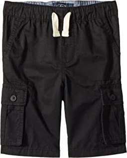 Pull-On Cargo Woven Shorts (Little Kids/Big Kids)
